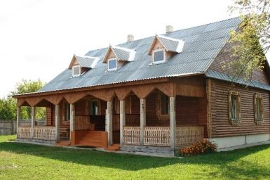 Дом охотника и рыболова в Снядине