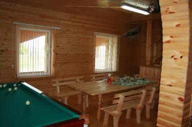 Дом охотника и рыболова  - 1 этаж